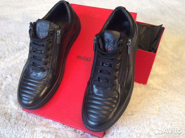 ada2b531c Hugo Boss original кроссовки кожаные мужские новые | Festima.Ru ...