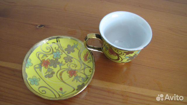 Красивая чайная пара  89217300160 купить 1