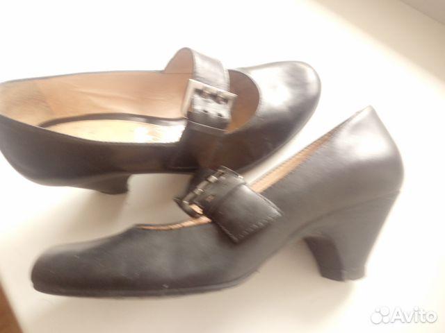 Туфли кожаные с ремешком. Эконика.Ria Rosa.36р-р 89117015256 купить 5