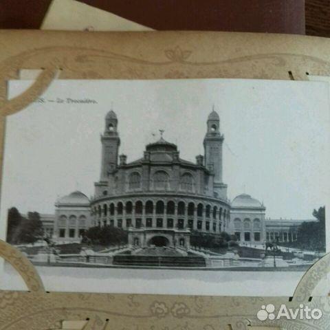Виды Парижа. Дореволюционная открытка 89219995491 купить 4