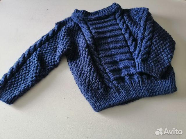 вязаный свитер на мальчика новый купить в калининградской области на
