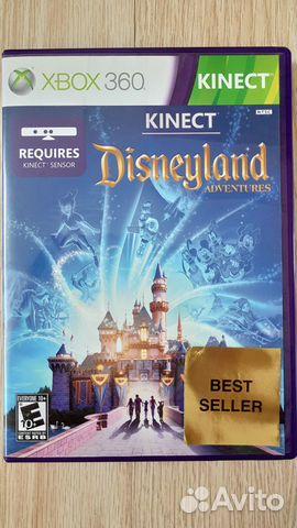 X Box 360 Kinect Disneyland Adventures