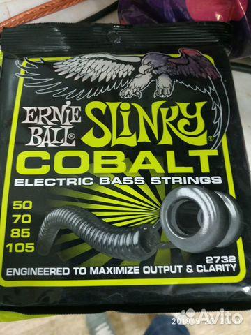 Струны ernie ball regular slinky cobalt bass 89505690941 купить 1