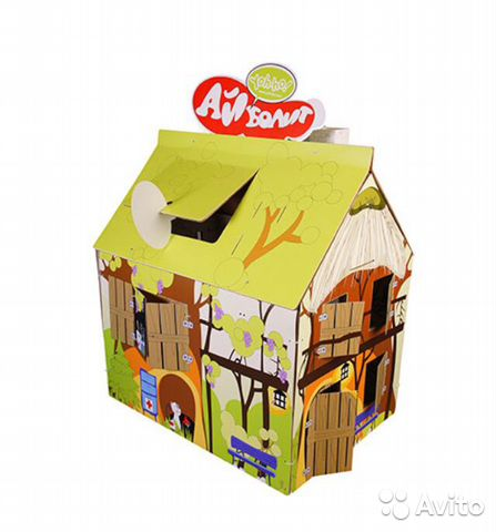 новый картонный домик раскраска купить в санкт петербурге на