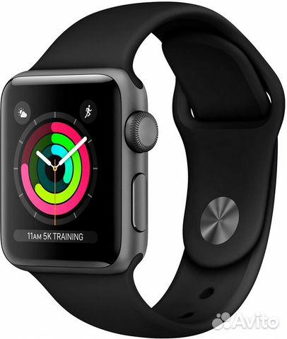 Часы Apple Watch Series 3 38mm Aluminum Case with