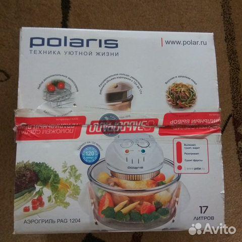 Аэрогриль Polaris pag 1204 новый 89996051934 купить 1
