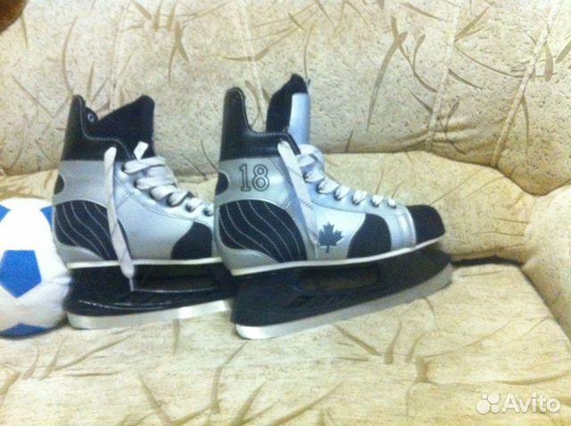 Коньки хоккейные 89675925437 купить 1
