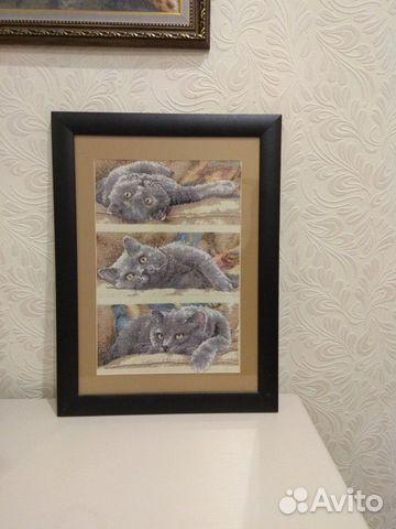 Картина вышитая крестиком 89026412907 купить 1