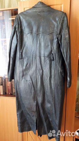 Кожаное пальто  89246188877 купить 2