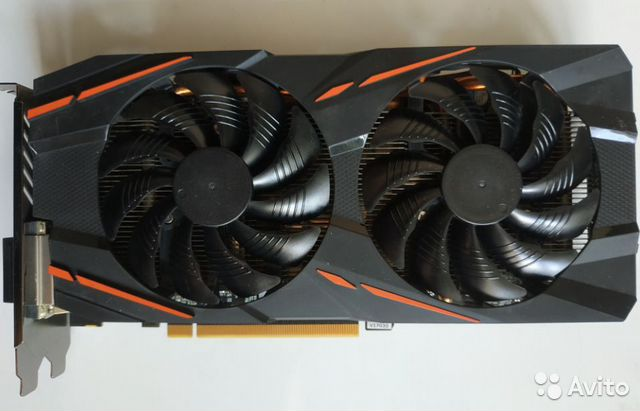 Видеокарта Gigabyte AMD Radeon RX 580 gaming 4GB