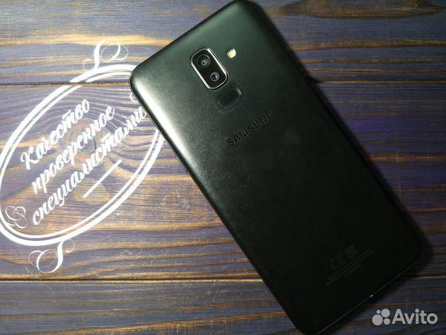 Samsung SM-J810F Galaxy J8 Черный  89148002038 купить 2