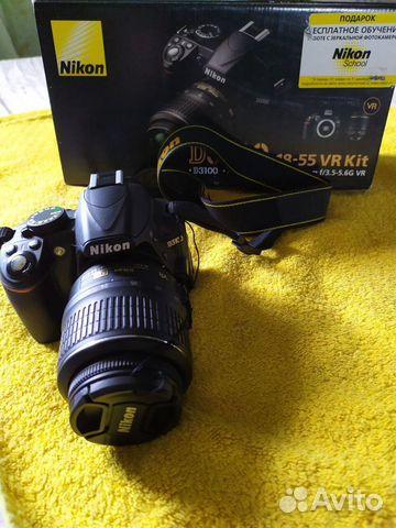 Фотоаппарат Nikon D3100 Kit 18-55 VR  89212206088 купить 1