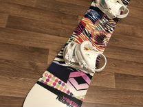 Сноуборд ftwo 151 женский+крепления Union+ботинки