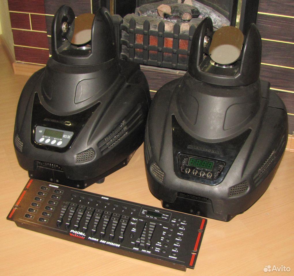 Pro светомузыка головы MOS300 2шт пульт DMX Proel  89128899109 купить 9