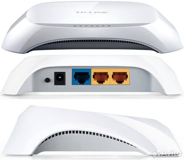 Беспроводной маршрутизатор TP-link TL-WR720 новый  89146977521 купить 4