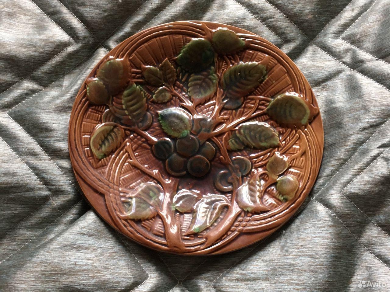 Тарелка настенная Конаково зик  89193693284 купить 1
