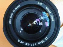 Объектив Sigma 28-105 mm 1:3.8-5.6 uc-lll