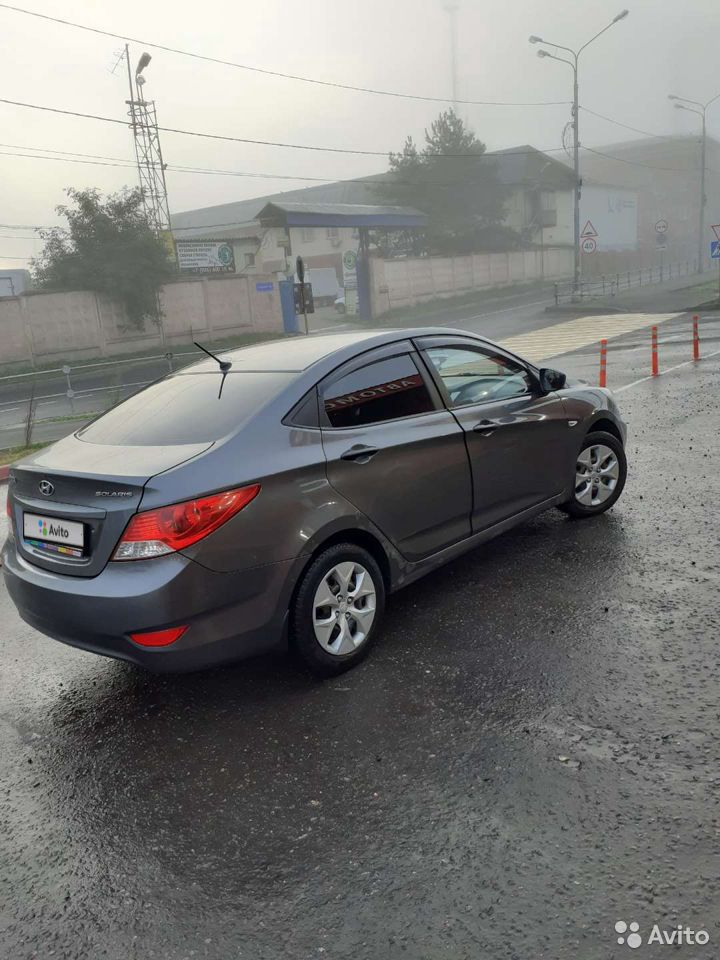 Hyundai Solaris, 2011  89836601365 купить 1
