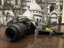 Продается фотоаппарат Nikon 3100