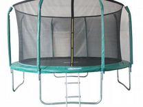 Батут 12FT 3,66м с защитной сеткой (внутрь) с лест