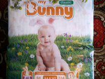 Подгузники my Bunny Classic Maxi 7-14кг (59шт)