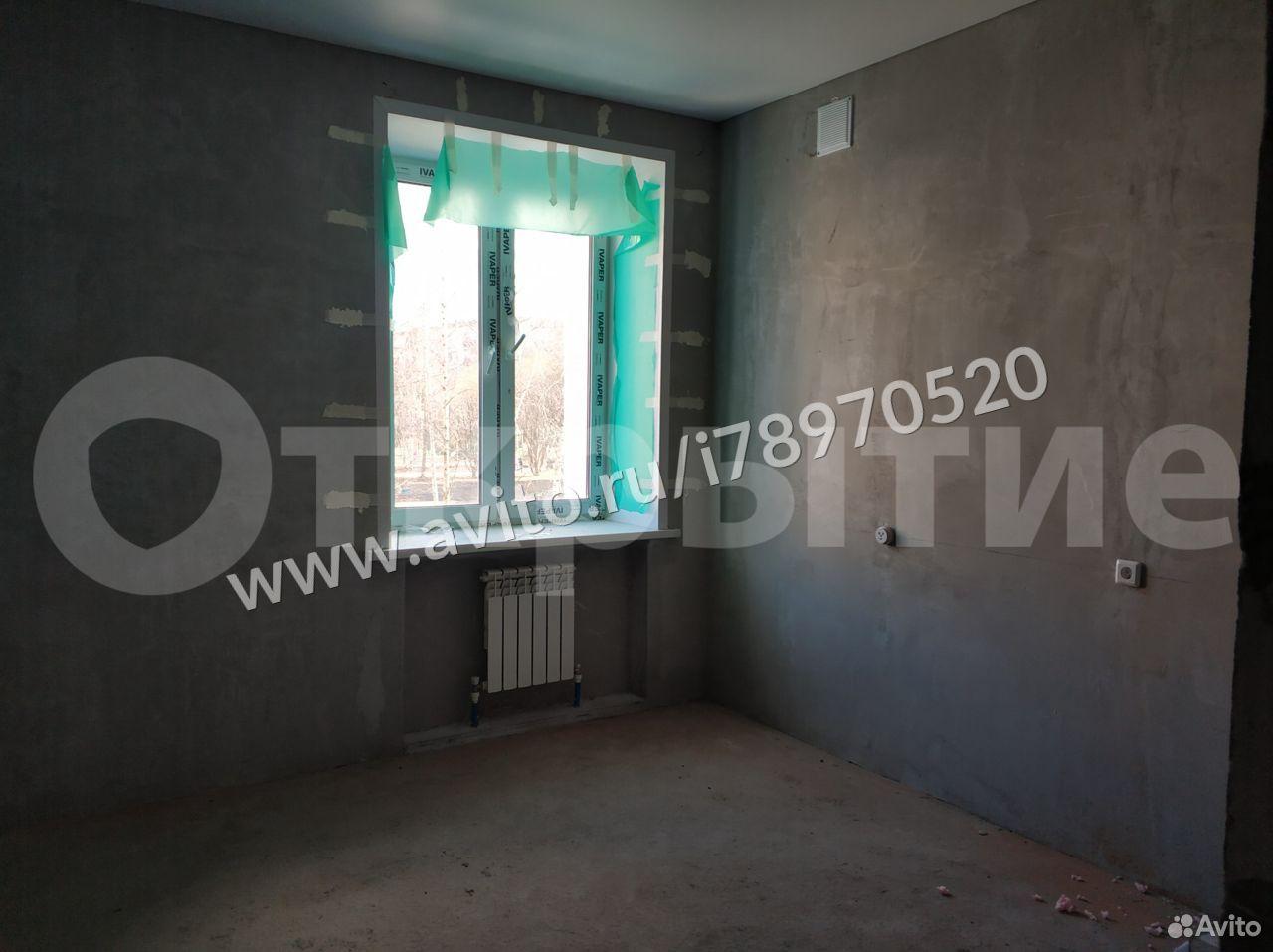 2-к квартира, 57.3 м², 2/4 эт.