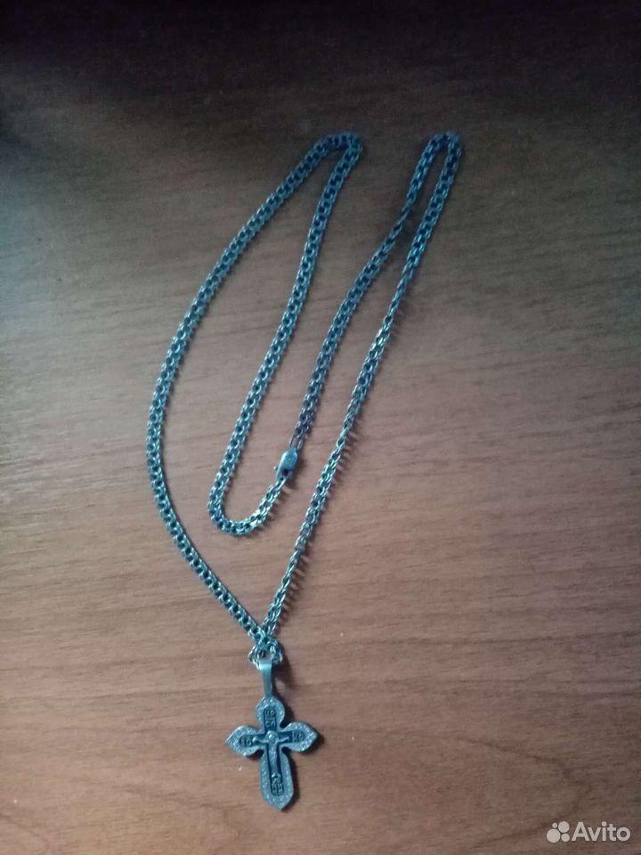 Серебряная цепь  89141464200 купить 1