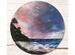 Картина круглая «Морской берег»