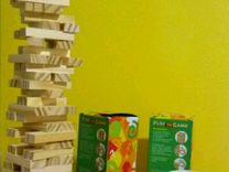 Jenga деревянная башня