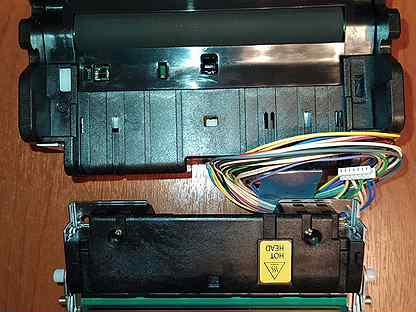 Печатающий механизм с автоотрезчиком на Атол 77Ф