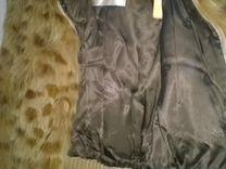 Красивая курточка из меха лисы