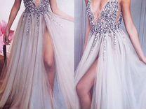 Свадебное вечернее белое платье