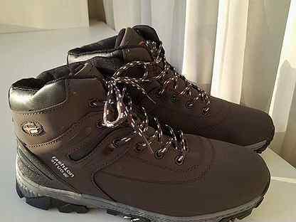 Мужские зимние кроссовки-ботинки