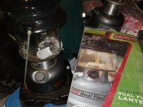 Бензиновая лампа колеман
