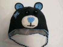 Шапка мишка Тедди, ручная работа