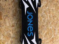 Сноуборд Jones и крепления Burton