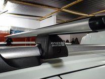 Багажник на LADA Kalina Cross 2 (аэро) +монтаж — Запчасти и аксессуары в Краснодаре
