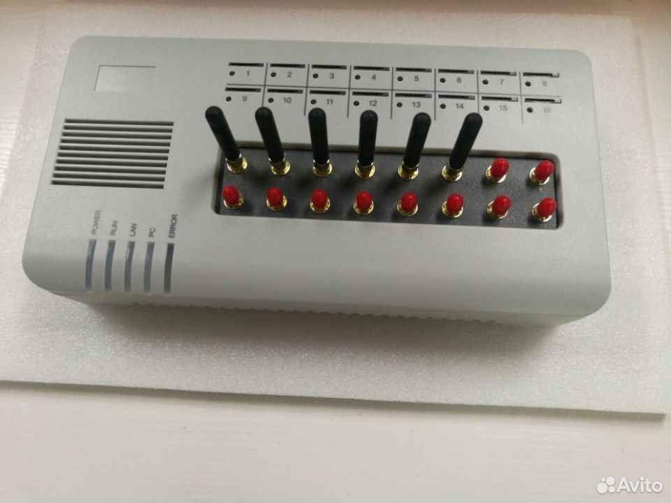 GoIP 16 (GSM-шлюз на 16 симкарт)  89913660900 купить 2