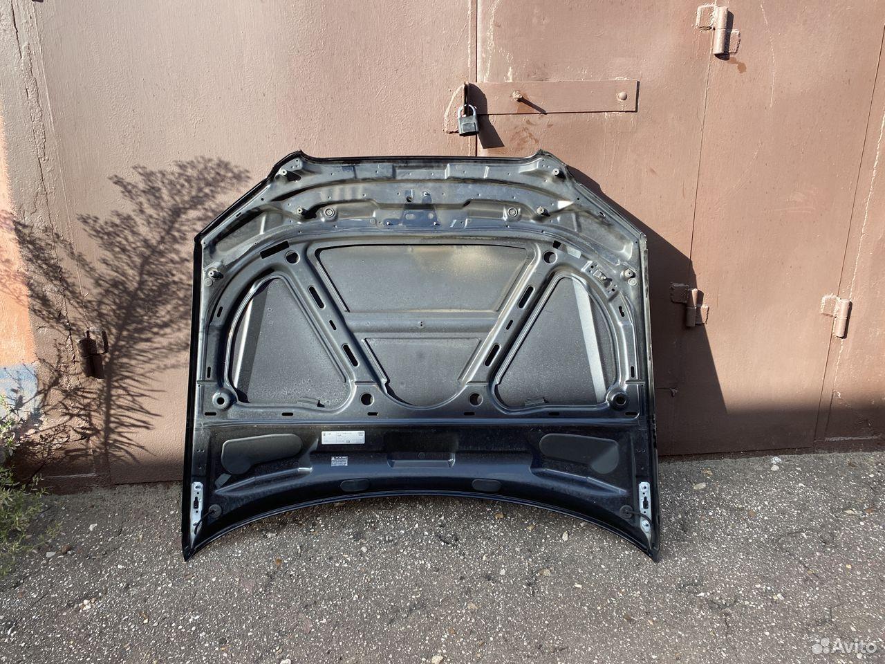 Капот черный Audi A4 B7  89534684247 купить 4
