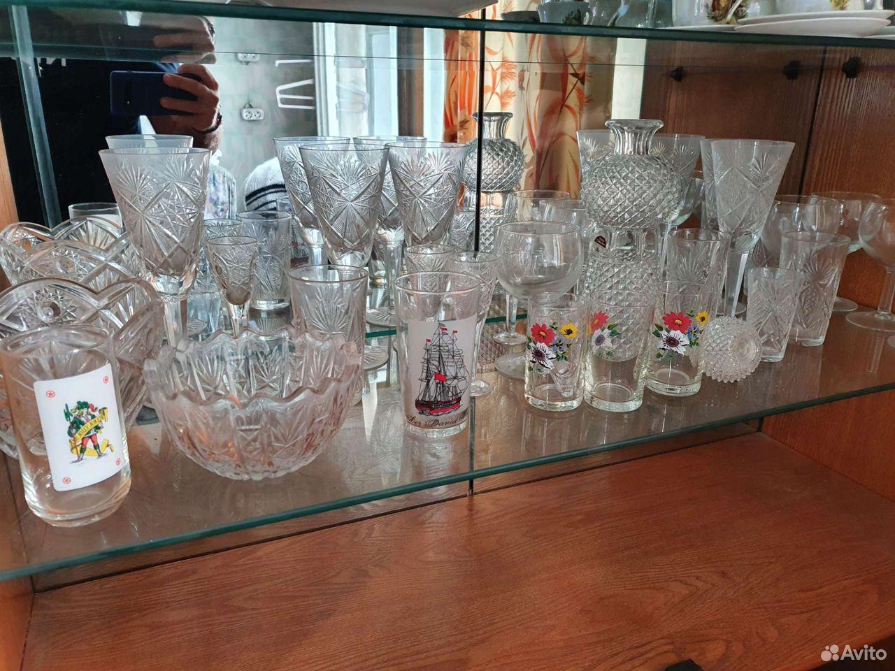 Хрустальные бокалы, Рюмки, посуда