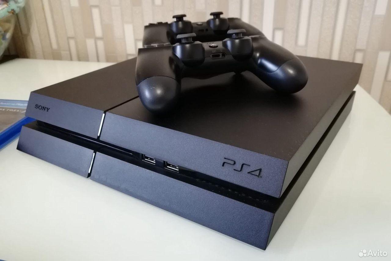 Sony PS4 + подписка + куча игр