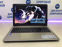 Ноутбук Asus D541S/2018г/N3060-up 2,1Ghz/HDD-500G