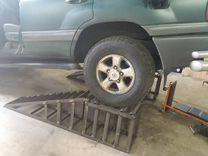 Эстакады для грузовиков и легковых
