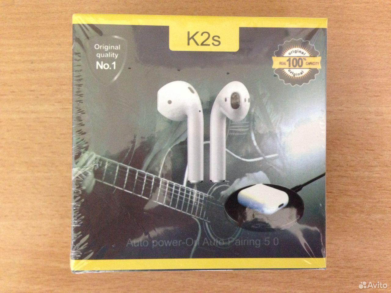 Беспроводные сенсорные наушники K2s  89960387878 купить 1