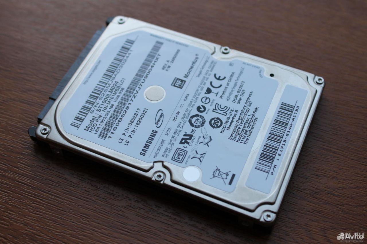 Жесткий диск для ноутбука Samsung на 1Tb  89141169036 купить 1