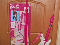 Гитара Барби + стойка с микрофоном
