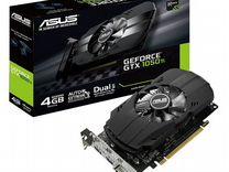 Видеокарта Asus GeForce GTX 1050 Ti Phoenix 4Gb