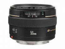 Объектив Canon EF 50mm f/1.4 (бу)