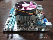 Материнская плата+процессор intel celerion G1638 S