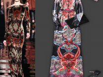 Бархатное платье в пол 46 размер